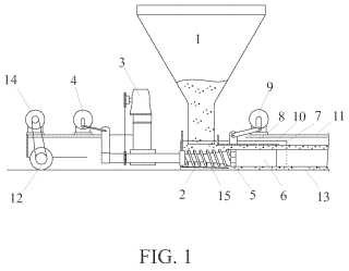 Método y aparato para el encofrado de productos de hormigón.