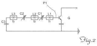 Circuito resonante para osciladores de microondas.