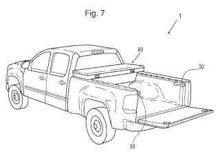Sistema de manejo de carga para camionetas con caja abierta.