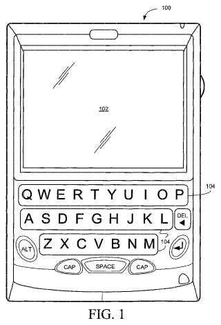 Sistema de entrada de texto para un dispositivo electrónico y métodos para el mismo.