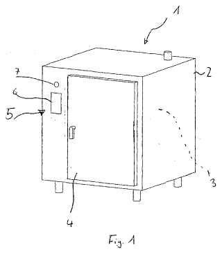 Dispositivo de cocción industrial y su procedimiento de funcionamiento.