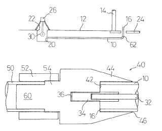 Método para la sustitución de tuberías y aparato correspondiente.