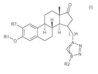 Derivados de estratrieno y sus usos como inhibidores de la 17-beta-hidroxiesteroide-deshidrogenasa.