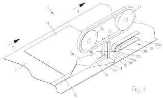 Procedimiento y dispositivo para la configuración de fondos abiertos en zonas finales de cuerpos de saco tubulares.