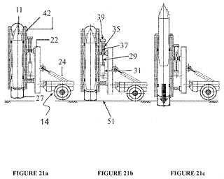 Sistema de lanzamiento de misiles móvil y método del mismo.