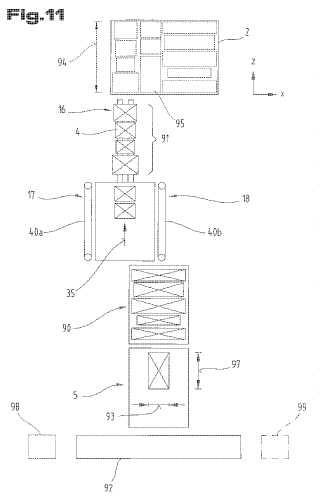 Procedimiento para la carga de un soporte de carga con unidades de carga.