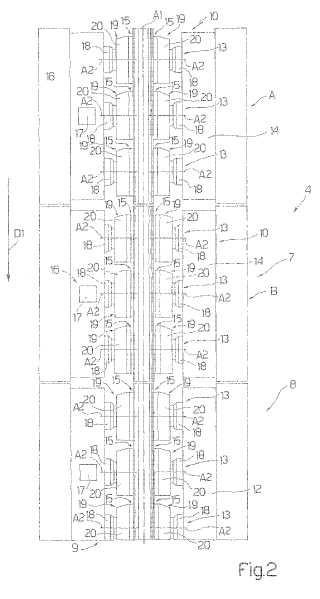 Conjunto de sujeción para una torre de colocación y método correspondiente.