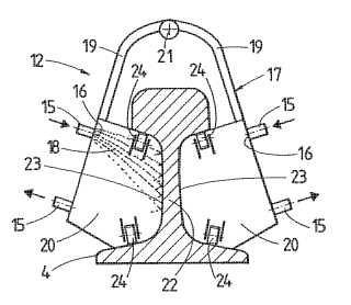 Procedimiento para soldar extremos de carriles y máquina de soldadura.
