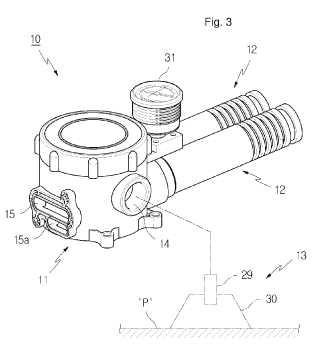 Sistema de vacío que utiliza un cartucho de filtro.