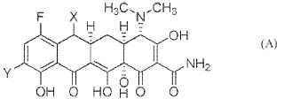 Compuestos de tetraciclina sustituidos con c7-fluoro.