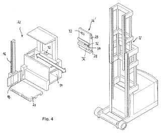 Amortiguación o prevención de vibraciones en carretillas industriales.
