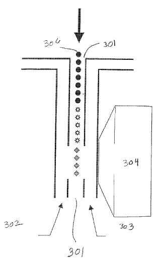 Sistema y procedimiento de clasificación de materiales usando dirección de láser holográfica.