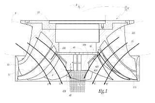 Órgano que forma punta para rueda de máquina hidráulica, rueda y máquina hidráulica equipadas con dicho órgano.