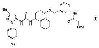 Inhibidores de p38 MAP cinasa.
