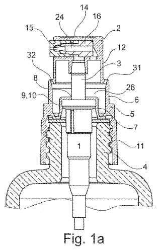 Sistema de distribución de un producto fluido.