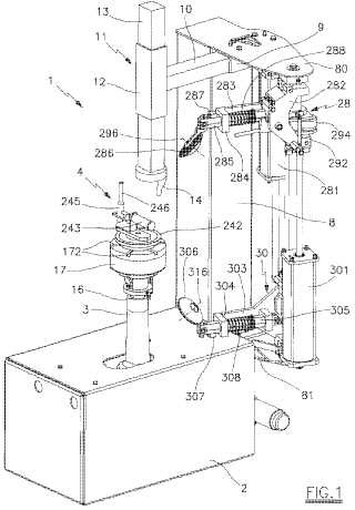 Dispositivo de liberación automático de talón para máquinas de extracción de neumáticos.