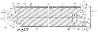 Panel rígido de suelo con medios de fijación mecánicos integrados.