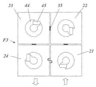 Disposición de filtro de alta frecuencia sintonizable así como procedimiento para su producción.