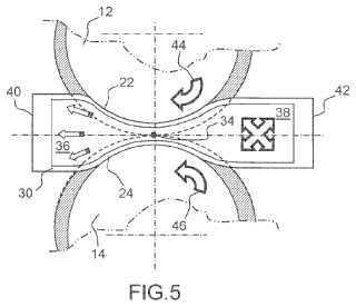 Articulación automotorizada y conjunto articulado autorregulados.
