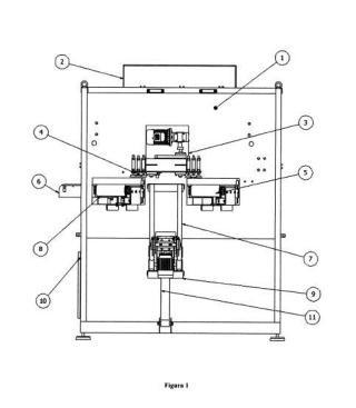 Máquina laminadora horizontal de pizarra.