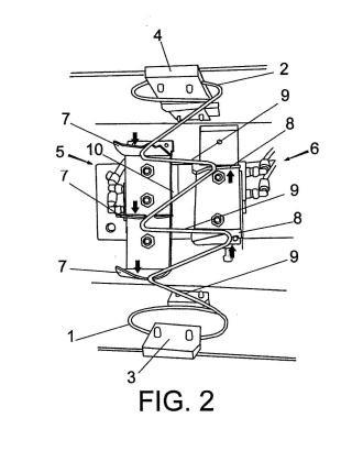 Procedimiento de fabricación de un muelle para amortiguación direccionable y dispositivo para la ejecución del mismo.
