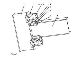 Sistema de fijación desmontable y configurable para uniones de perfiles estructurales.