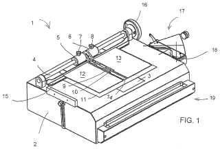 Método y dispositivo para fabricar las tapas o cubiertas de un libro o similar.