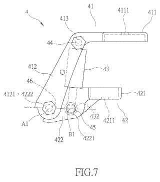 Dispositivo de apertura de asiento de motocicleta.