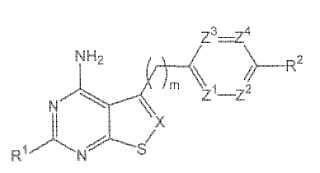 Inhibidores de tiopirimidina e isotiazolopirimidina quinasa.