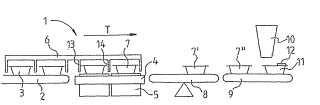 Dispositivo y procedimiento de pesaje.