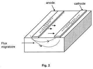 Procedimiento mejorado para el tratamiento de construcciones y de terrenos mediante la aplicación de un campo eléctrico.