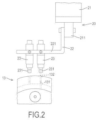 Dispositivo neumático de fijación.
