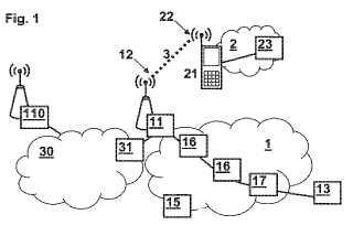 Funcionalidad de Conmutación de Etiquetas Multiprotocolo (MPLS) en una red de comunicaciones entre un primer nodo y un segundo nodo a través de una conexión inalámbrica.