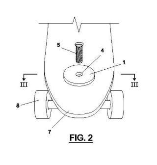 Dispositivo rotacional para monopatines de tipo longboard.