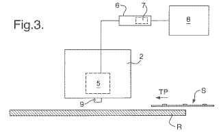 Aparato y método para detectar el espesor de un documento de papel.