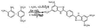 Mezcla que comprende sal de disodio del ácido fenilen-bis-bencimidazol-tetrasulfónico.