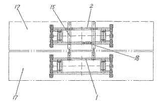 Grúa para contenedores capaz de suspender contenedores dobles de 12,12 metros (40 pies).