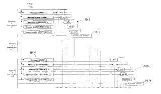Procedimiento de reducción de los efectos causados por las propagaciones multitrayecto durante el procesamiento de respuestas en modo 'S'.