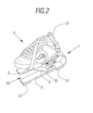 Accesorio biónico para calzado.