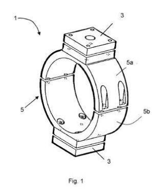 Módulo de enfriamiento para un dispositivo de movimiento lineal y husillo de bolas.