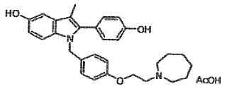 Procedimientos de preparación de la forma polimórfica A de acetato de bazedoxifeno.