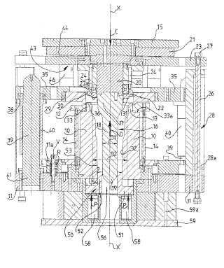 Procedimiento de extrusión de precisión de piezas metálicas huecas y dispositivo asociado.