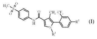 Atropisómero de derivado de pirrol.