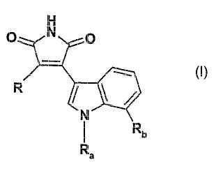 Pirrol-2,5-dionas sustituidas como inhibidores de proteína cinasa C.
