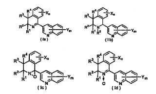 3-(Dihidro(tetrahidro)isoquinolin-1-il)quinolinas.