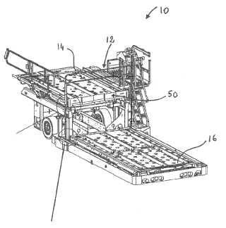 Sistema de barrera para un dispositivo de carga para aviones.