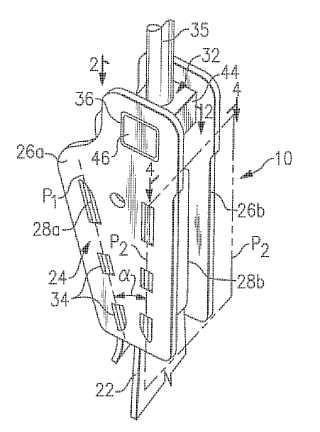 Conjunto terminal de soporte de carga para elevador.