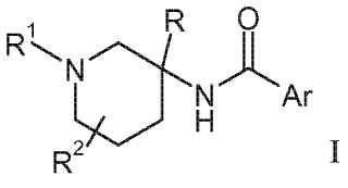 Piperidinas sustituidas por aroilamino y heteroaroilamino como inhibidores de GLYT-1.