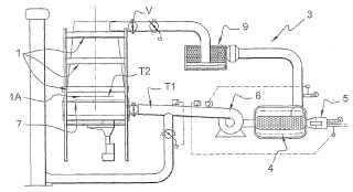 Procedimiento de destilación de productos sólidos orgánicos.