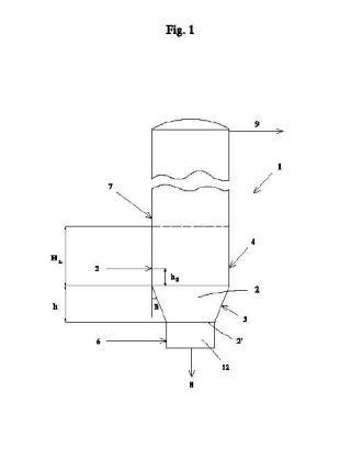 Procedimiento para la gasificación de materiales sólidos orgánicos y reactor empleado.